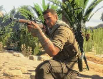 《狙击精英3》实机游戏视频