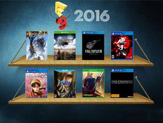 E3 2016最期待的主机大作盘点