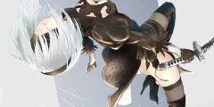 《尼尔:机械纪元》惹火同人图 黑丝高跟2B小姐姐