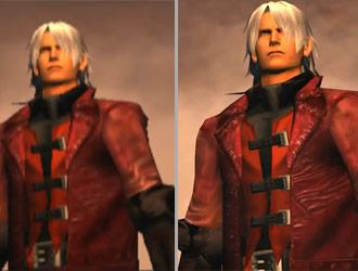 《鬼泣HD》初代各版本画面对比