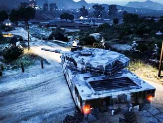 这款Mod将《GTA5》变成20v20的激烈战场