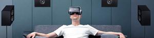 大朋VR全景声巨幕影院观影体验!