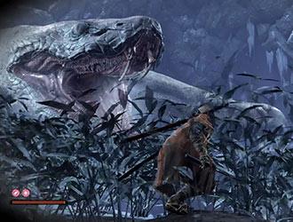 《只狼》新演示放出 巨蟒震撼亮相!