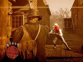 《荒野大镖客2》新截图展示新死神之眼系统