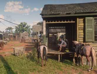 一个视频感受《大镖客2》中的环境变迁