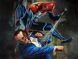《漫威蜘蛛侠》第二弹DLC开场演示公开