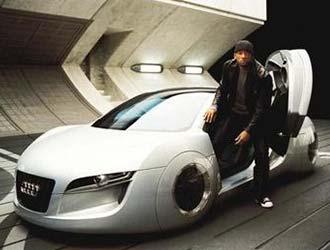 這是要干嘛?侃爺曬《GTA4》奧迪概念跑車