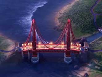 《文明6:风云变幻》追加新奇观金门大桥