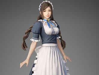 《真三8》新服装DLC 蔡文姬女仆装超甜美