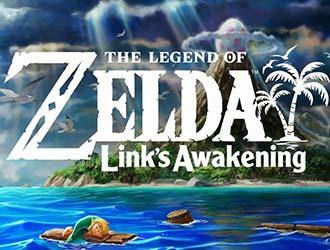 Switch《塞尔达:梦见岛》和GB原版画面对比