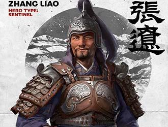 《全面战争:三国》张辽人设图和技能公布