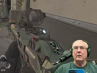 66岁国外老爷爷玩《Apex英雄》表现惊人!