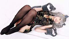 岛国樱花妹美腿写真照 娇小可爱而又不失诱惑!