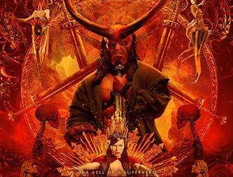 R级片《地狱男爵》曝光新IMAX海报