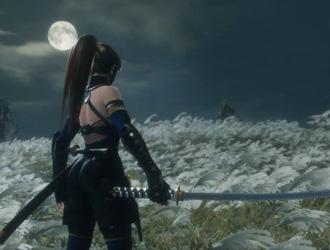 《死或生》性感女忍者参战《只狼》