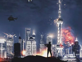 """《上海堡垒》终极预告曝""""上海大炮"""""""