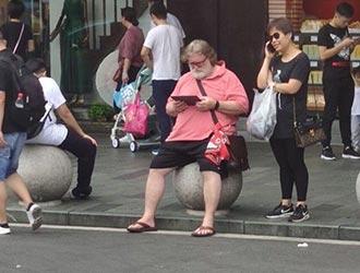 上海街头竟然偶遇G胖!