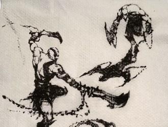 《战神》系列未公开的概念图