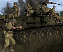 《钢铁前线:解放1944》精美壁纸