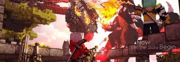 神级玩家耗3年打造出《我的世界》史诗大片