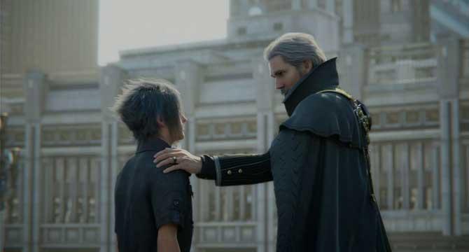 《最终幻想15》新报 召唤兽「利维坦」霸气上天