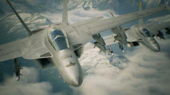 《皇牌空战7:未知空域》身临其境的空战体验