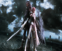 《最终幻想13-2》精美壁纸