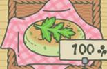 艾蒿小麦饼