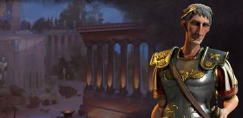 《文明6》罗马帝国的崛起通关流程视频