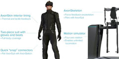 秒杀跑步机和VR手套,触感+浮空超强外设-Axon VR