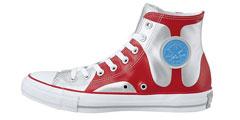 匡威推出奥特曼50周年纪念版帆布鞋 穿上去打小怪兽咯