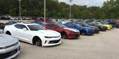 德州豪车车轮再被盗 48辆新车被卸损失高达4.5万美元