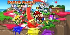 Wii U《纸片马里奥:涂鸦》新预告!害羞小子吃颜色