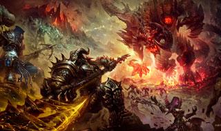 《暗黑破坏神》精彩原画欣赏 暗黑哥特中世纪风格!