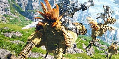 陆行鸟杀马特 盘点《最终幻想》游戏系列必备元素