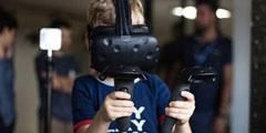 Quark VR展示无线传输!现可支持多人无线VR游戏