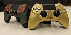 Scuf两款全新手柄上手 来看看PS4精英手柄长啥样!