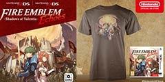 3DS《火焰纹章回声》英国开启预订 预订送主题T恤!