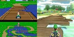 差别真大!《马里奥赛车8》豪华版多平台赛道画质对比