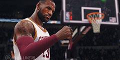 《NBA Live 18》首部实机演示泄露 全新截图画质超强