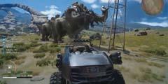 70码杀人术!《最终幻想15》6月大更新 车辆的新玩法