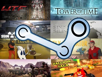 Steam新游预览第24期:使命召唤版大逃杀!穷人版高达