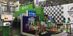 CJ2017:游侠小编带你CJ索尼微软育碧EA展台抢鲜游