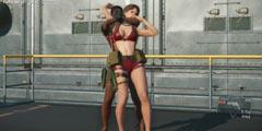 《合金装备5》夏季补丁公布 新增双枪山猫及清凉泳装