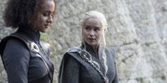 HBO《权力的游戏》第七季第4集剧照 龙妈霸气骑龙!