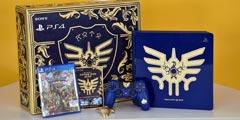 《勇者斗恶龙11》同捆限定版PS4开箱 黄金史莱姆降临