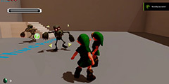 虚幻4版《塞尔达:时之笛》多人模式技术演示新进展