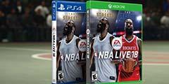 《NBA Live18》骑士VS勇士演示 看和NBA2K有何区别