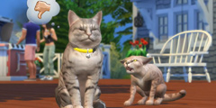 GC2017:《模拟人生4》猫狗宠物最新资料片公布!