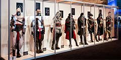 GC2017:育碧展出《刺客信条》系列主角真实刺客装